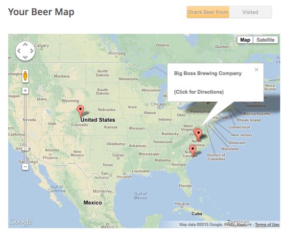 beer portfolio beer map big boss brewing raleigh north carolina