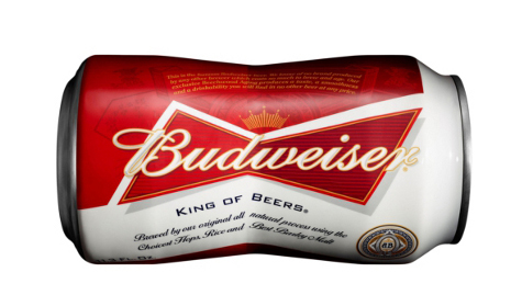 Budweiser-bow tie can-bud-bud light-beer canned king of beer st louis