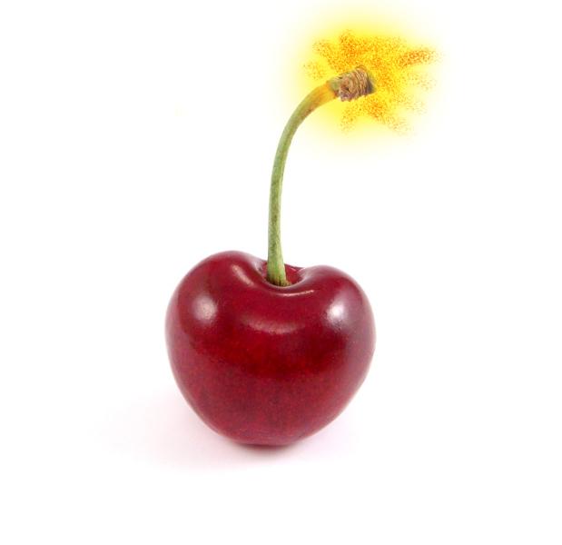 red cherry bomb