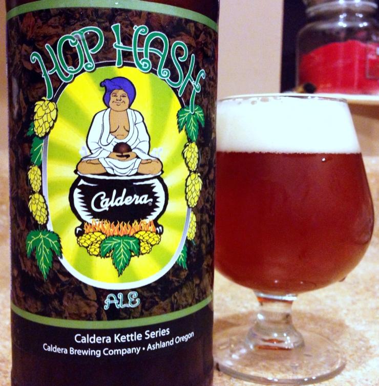 hop hash pale ale india pale ale caldera brewing beer