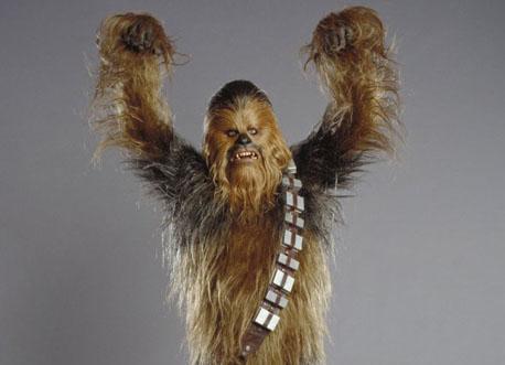 star wars chewbacca wookie alien battle
