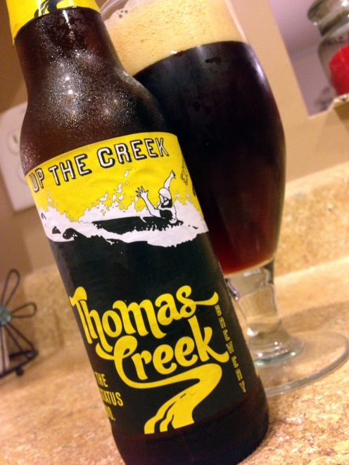 thomas creek-south carolina-beer-beer review-up the creek-ipa