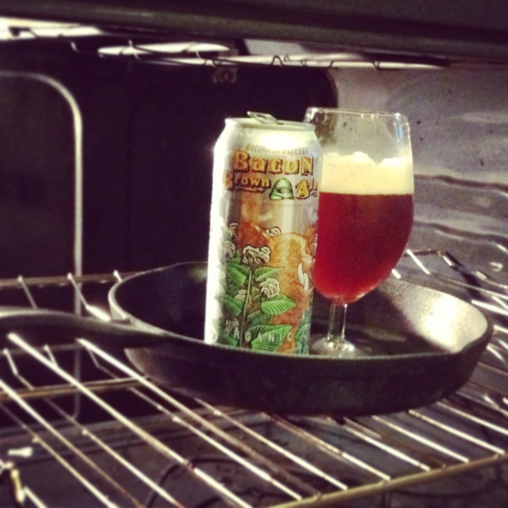 uncommon brewers bacon beer