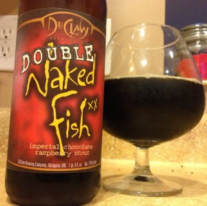 duclaw naked fish beer