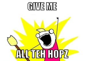 all teh hops