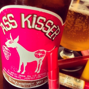 ass kisser ales-strawberry wit-beer