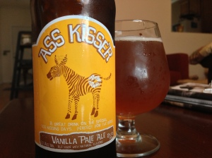 ass kisser ales-vanilla pale ale-beer