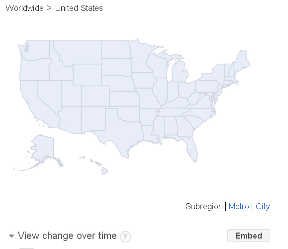 craft beer google trend map 04-now - blank search