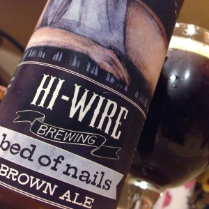 bed of nails_brown_ale_beer_hiwire_hi-wire_brewery_beer_asheville