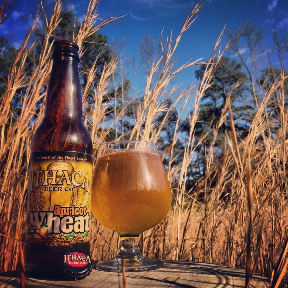 ithaca-Ithaca beer-apricot wheat-beer-nature-beertography
