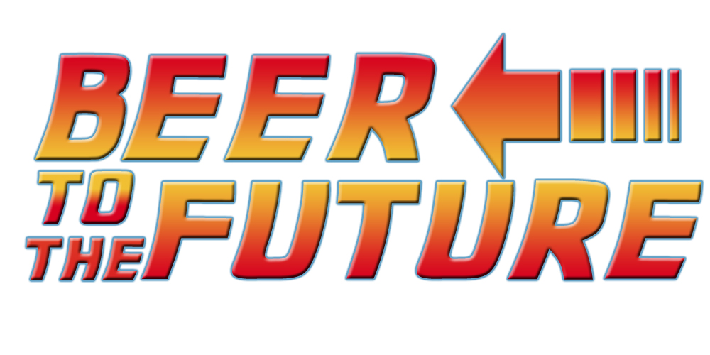 beer to the future blank background