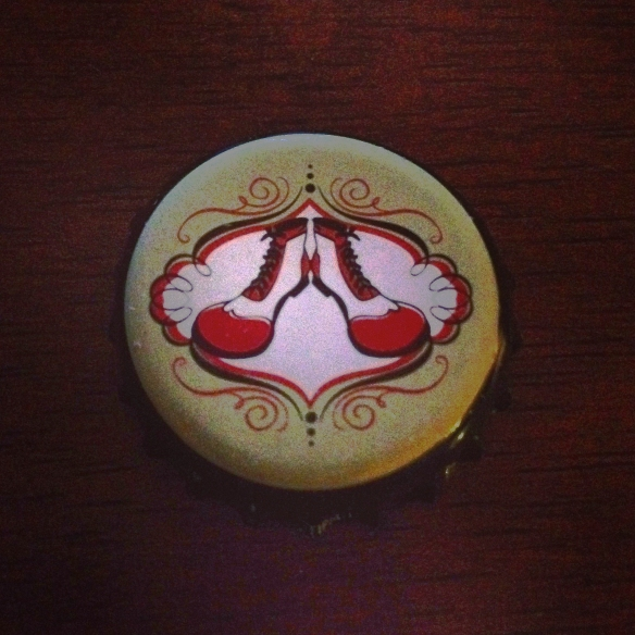 clown shoes-bottle cap-beer