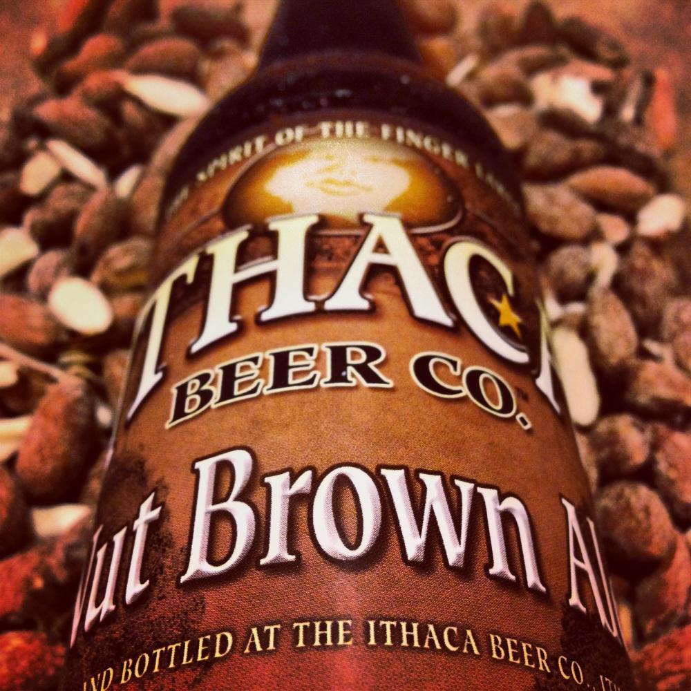 ithaca beer-ithaca-new york-brewery-nut brown-brown ale-beertography