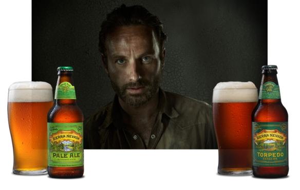 rick grimes-beer