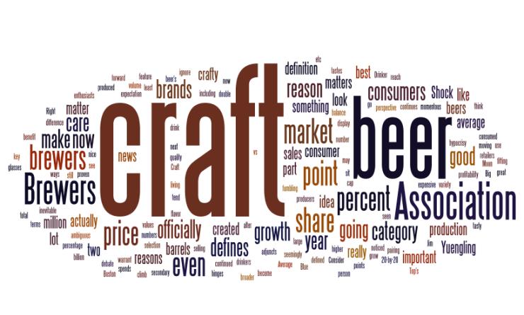 craft beer-beer-word cloud