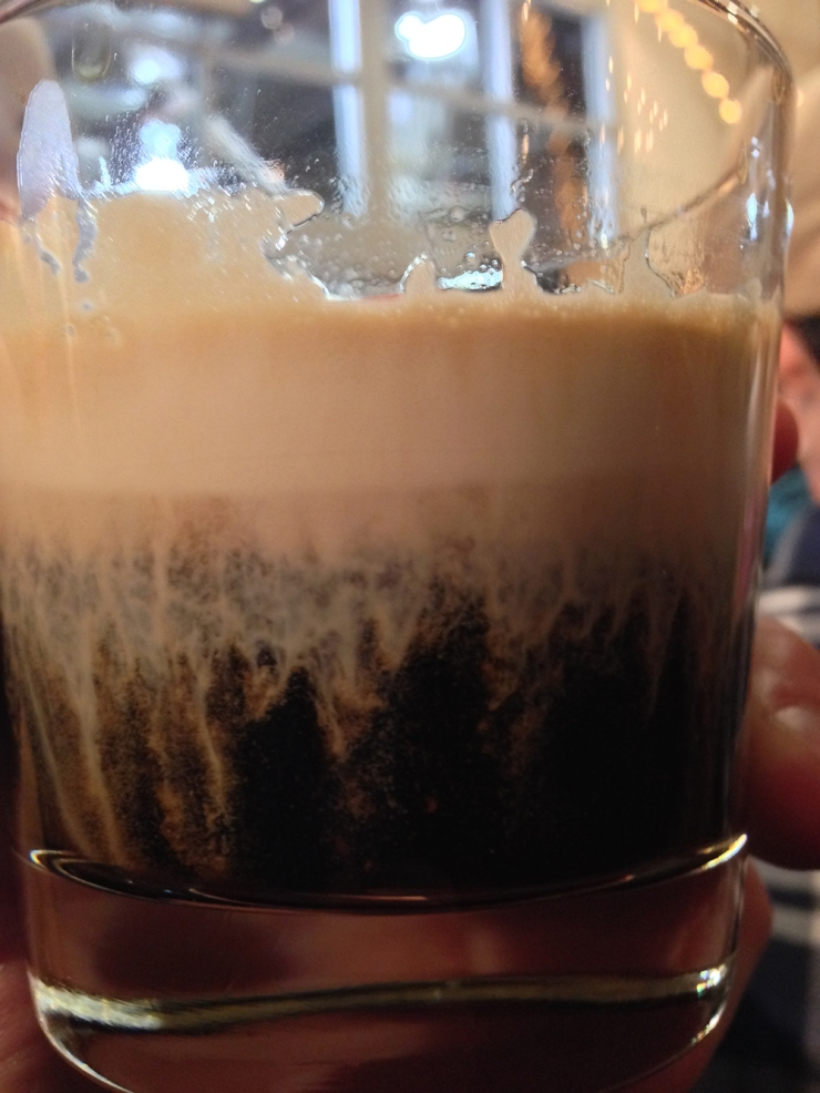 stout in glass