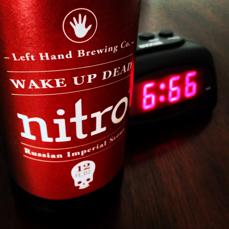beer-beertography-left hand-left hand brewing-wake up the dead-stout-russian imperial stout-alarm clock-colorado