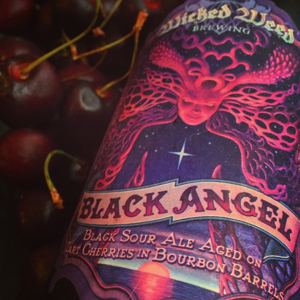 wicked weed-beer-beertography-black angel-barrel beer-cherry-north carolina