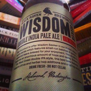 black raven-wisdom seeker-ipa-india pale ale-beer-beertography