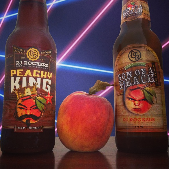 rj rockers-son of a peach-peachy king-family-awkward family photos-beer-beertography