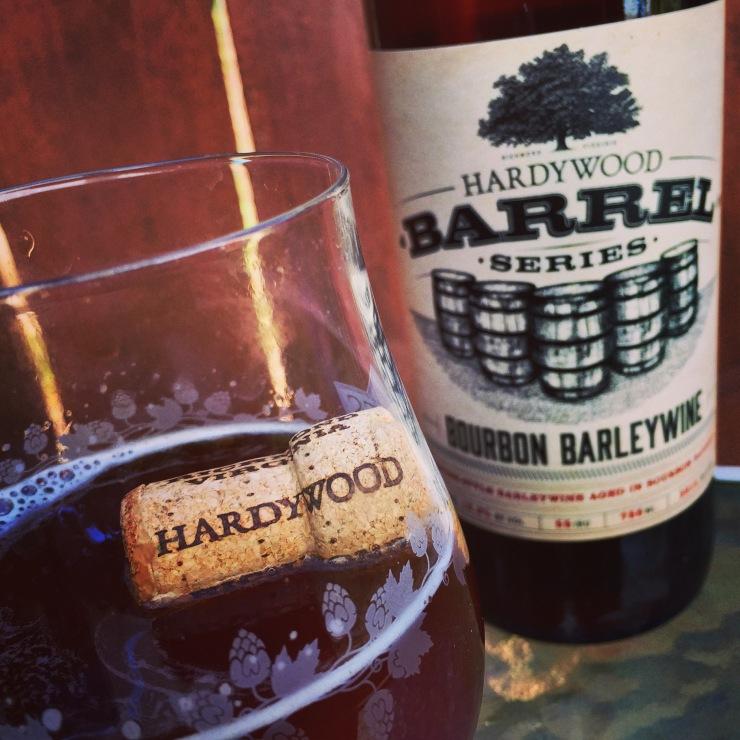 barleywine-barrel aged-hardywood-beer-craft beer-beertography