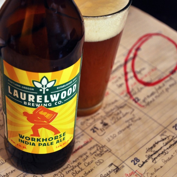 laurelwood workhorse-ipa-india pale ale-beer-beertography