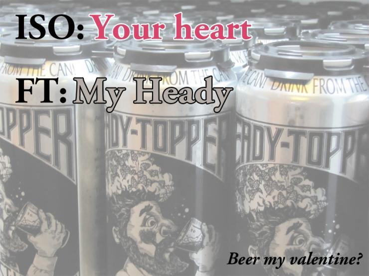 heady topper-valentines day