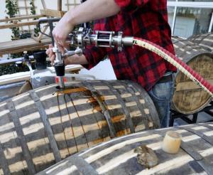 cognac barrel-beer