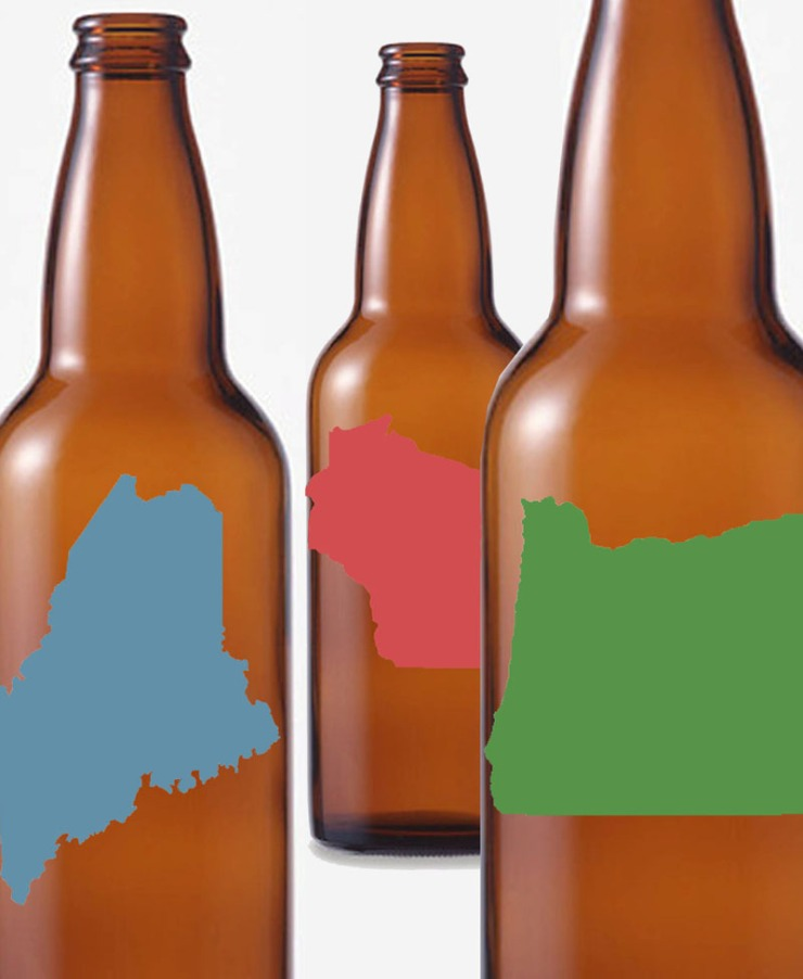 blank beer labels