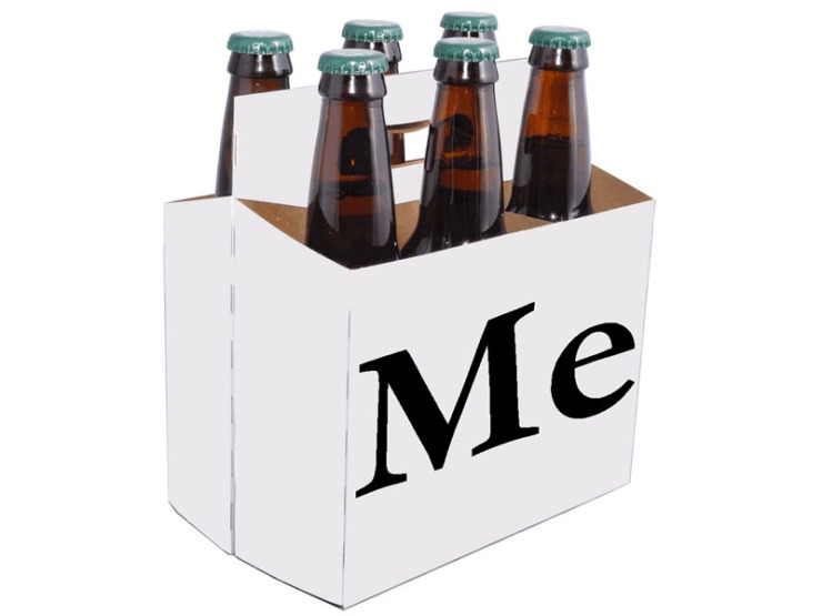 personalized beer six pack