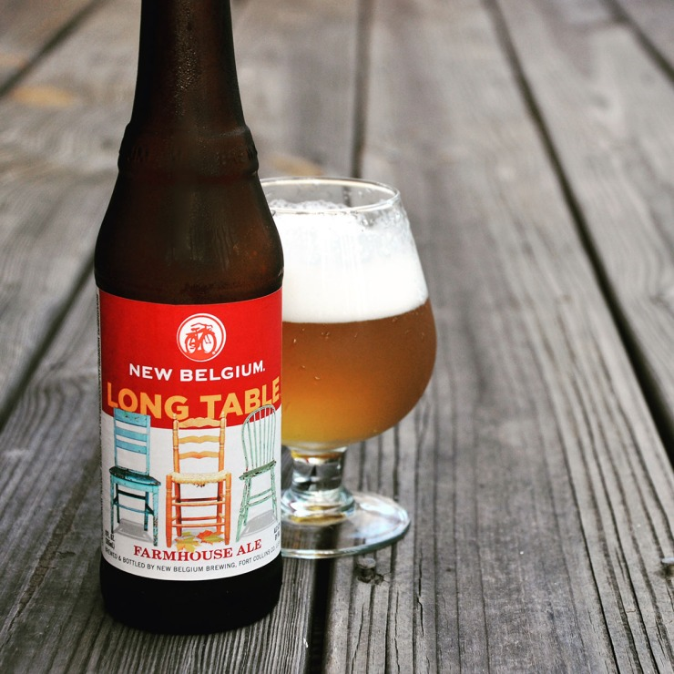 new belgium-long table-farmhouse-beer-craft beer-beertography