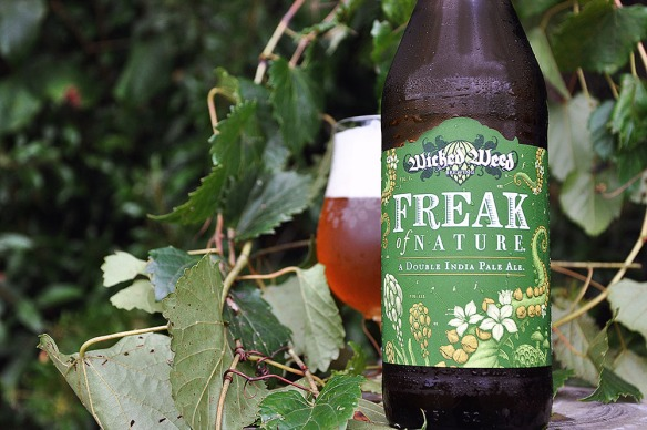 wicked weed-freak of nature-double ipa-beer-craft beer-beertography