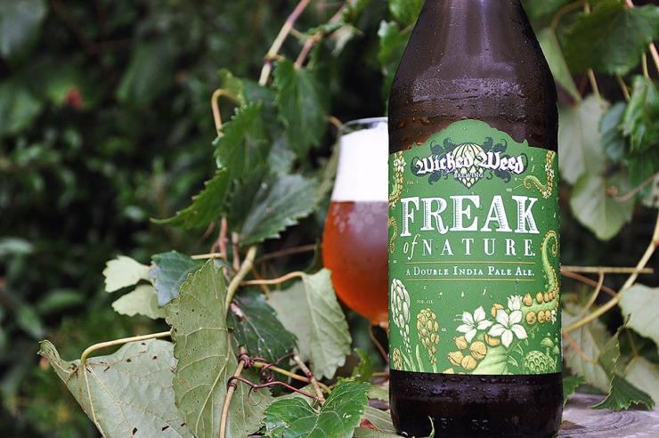 wicked weed-freak of nature-double ipa-beer-craft beer-beertography