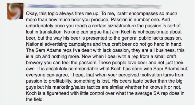 lack of passion